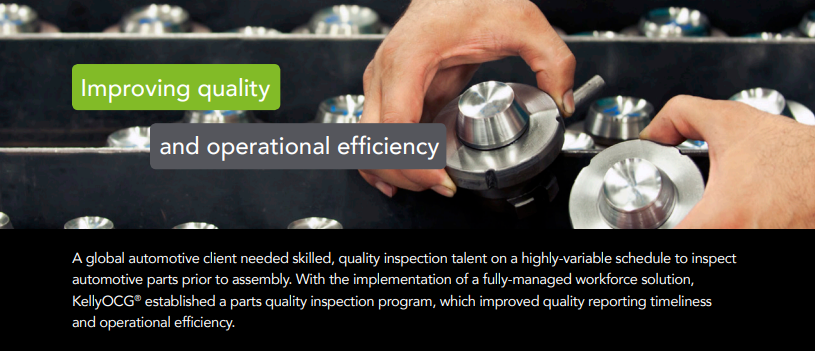 Improving Quality and Operational Efficiency